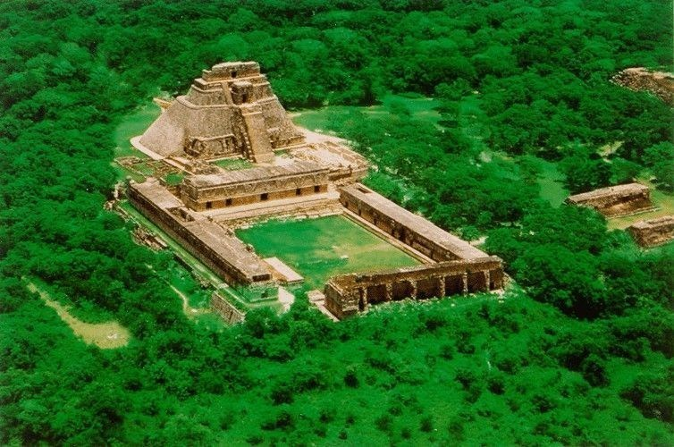 """Site d'Uxmal"" from www.latinamericanstudies.com (PRNewsFoto/Office du Tourisme du Mexique)"