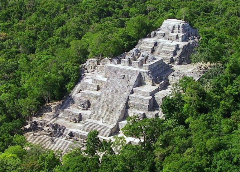"""Site de Calakmul"" from www.mexiquevoyage.net (PRNewsFoto/Office du Tourisme du Mexique)"