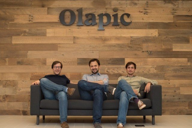 Left to Right: Olapic co-founders Pau Sabria, Luis Sanz and Jose de Cabo (PRNewsFoto/Olapic)