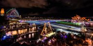 Vivid Sydney 2016 - Sydney Harbour credit Destination NSW (PRNewsFoto/Destination NSW)