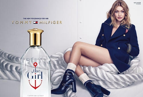 TOMMY HILFIGER LAUNCHES WITH GLOBAL BRAND AMBASSADOR GIGI HADID: NEW FRAGRANCE, THE GIRL BY TOMMY HILFIGER LAUNCHES WITH GLOBAL BRAND AMBASSADOR GIGI HADID (PRNewsFoto/ARAMIS & ESTEE LAUDER)